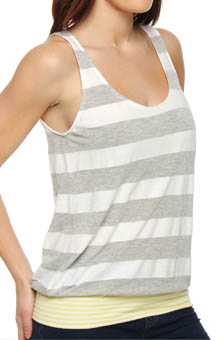 Michael Stars St Tropez Stripe Sleeveless Tee 7084