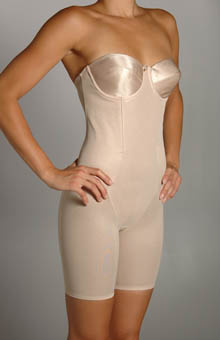 Long Leg Strapless Bodybriefer