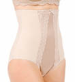 Extra Firm Control Hi-Waist Brief with Lace Image
