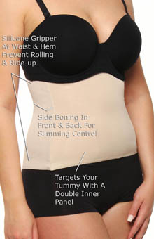 Miraclesuit Step-In Waist Cincher 2742