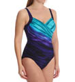 Miraclesuit Deep End Sanibel Wrap Underwire One Piece 450163