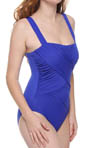 Up And Coming Romance Draped One Piece Swimsuit