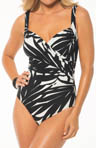 Miraclesuit Drama Class Sanibel Wrap One Piece Swimsuit 467163