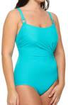 Lisa Jane Double Strap One Piece Swimsuit