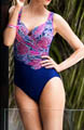 Miraclesuit Great Expectations Escape Shirred One Pc. Swimsuit 471266