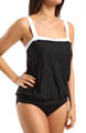 Color Mix Breezy Fauxkini One Piece Swimsuit Image