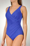 Oceanus DD Drape Cross Over 1 Piece Swimsuit