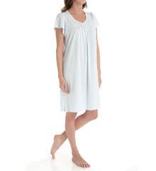 Miss Elaine Silkyknit Cap Sleeve Gown 209464