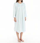 Brushed Back Satin Long Sleeve Long Gown Image