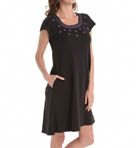 Interlock Knit Gown Image
