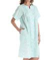 Seersucker Printed Gown Image