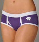Miss Smarty Pants K-State Wildcats Boybrief Panty KSTBB2