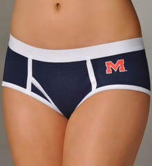 Miss Smarty Pants Ole Miss Rebels Boybrief Panty