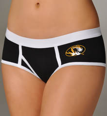 Miss Smarty Pants Missouri Tigers Boybrief Panty