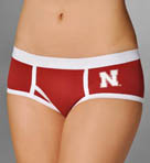 Miss Smarty Pants Nebraska Huskers Boybrief Panty NEBBB2