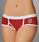 Miss Smarty Pants Ohio State Buckeyes Boybrief Panty OHSTBB2
