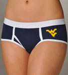 Miss Smarty Pants West Virginia Mountaineers Boybrief Panty WVBB2