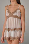 Sophia Chemise With Lace Thong