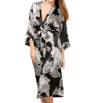 Mystique Intimates Raeanna Long Print Kimono 30593