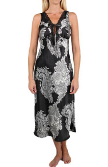 Raeanna Print Gown