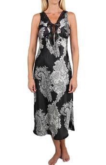 Mystique Intimates Raeanna Print Gown 30595