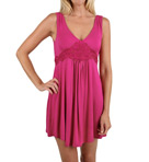 Mystique Intimates Dreamy Short Gown 34904