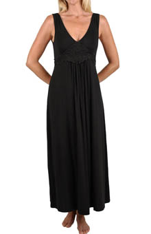 Mystique Intimates Dreamy Ballet Length Gown 34905