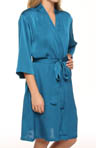 Mystique Intimates Louise Short Wrap Robe 62802
