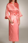 Hydrangea Solid Long Kimono Image