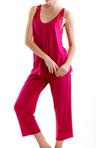 Olivia Capri Pant Pajama Set Image
