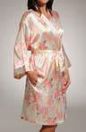 Hydrangea Short Kimono Image