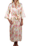 Mystique Intimates Hydrangea Long Kimono 78843