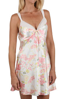 Mystique Intimates Hydrangea Short Gown 78844