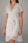 Desiree Short Chiffon Robe