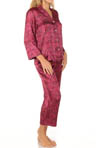 N by Natori Sleepwear Wei Printed Hammered PJ TC6003