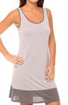 N by Natori Sleepwear Taki Color Block Chemise TC8017
