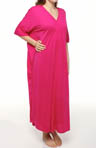 N by Natori Sleepwear Taki Solid Jersey Caftan UC0020