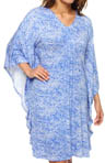 N by Natori Sleepwear Tanawin Printed Rayon Spandex Tunic UC2007
