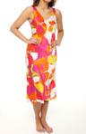 Annala Printed Charmeuse Gown