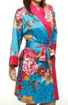 N by Natori Sleepwear Gayakan Printed Poly Charm Wrap UC4001