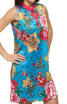 Gayakan Printed Poly Charm Chemise