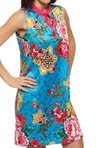 N by Natori Sleepwear Gayakan Printed Poly Charm Chemise UC8002