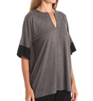 N by Natori Sleepwear Oasis Solid Jersey Tunic Top VC5003