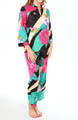 N by Natori Sleepwear Beijing Flower Tunic Pajama Set VC6020