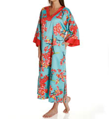 N by Natori Sleepwear Sunset Blossom Long Caftan WC0001