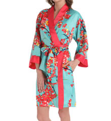 N by Natori Sleepwear Sunset Blossom Wrap WC4001