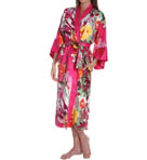 N by Natori Sleepwear Watercolor Flower Long Robe WC4013