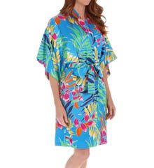 "N by Natori Sleepwear Tropical 39"" Wrap WC4020"