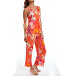 N by Natori Sleepwear Shanghai Flower Sleeveless Pajama Set WC6010
