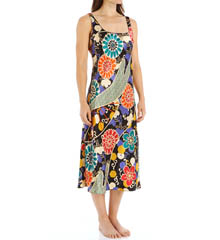 N by Natori Sleepwear Noelle Printed Long Gown XC3013